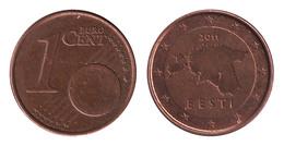 Estonia / 2011 / 1 Euro Cent / VF - Estonia