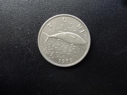 CROATIE : 2 KUNE   1993    KM 10     SUP - Croatie