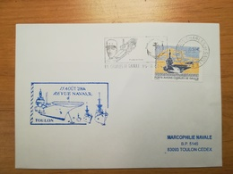 Enveloppe Revue Navale Toulon 15.08.04 - Stamps
