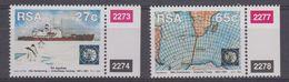 South Africa 1991 30th Anniversary Antarctic Treaty 2v (+margin) ** Mnh (40913) - Zuid-Afrika (1961-...)