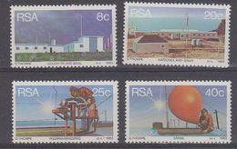 South Africa 1983 Weather Station 4v ** Mnh (40913A) - Zuid-Afrika (1961-...)