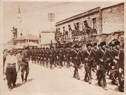 ALBANIE - SCUTARI - Photo Originale De La Fete Anniversaire De La Proclamation De Son Independance - Defilé Des Troupes - Albanie