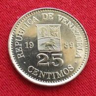 Venezuela 25 Centimos 1989 UNCºº - Venezuela