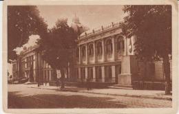 Iasi Circulated Postcard (ask For Verso / Demander Le Verso) University L'universite Monument Statue - Monuments
