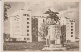 Iasi Circulated Postcard - C.I. Parhon Hospital Hopital - War Memorial, War Monument - Cavalry Monument Sculpture - Monuments