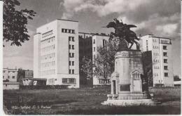 Iasi Uncirculated Postcard - C.I. Parhon Hospital Hopital - War Memorial, War Monument - Cavalry Monument Sculpture - Monuments