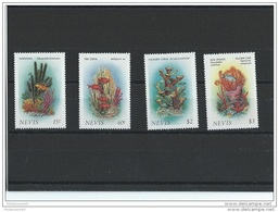 NEVIS 1986 - YT N° 419/422 NEUF SANS CHARNIERE ** (MNH) GOMME D'ORIGINE LUXE - St.Kitts And Nevis ( 1983-...)