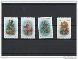 NEVIS 1986 - YT N° 419/422 NEUF SANS CHARNIERE ** (MNH) GOMME D'ORIGINE LUXE - St.Kitts-et-Nevis ( 1983-...)