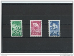 FINLANDE 1950 - YT N° 368/370 NEUF SANS CHARNIERE ** (MNH) GOMME D'ORIGINE LUXE - Finlandia