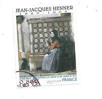 Série Artistique Jean-Jacques Henner 4286 Oblitéré 2008 - 2010-.. Matasellados