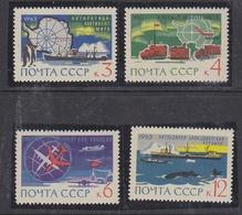 Russia 1963 Antarctica 4v ** Mnh  (40914) - Stamps