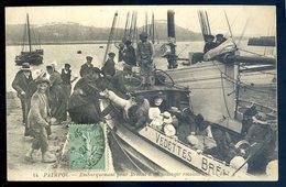 Cpa Du 22 Paimpol Embarquement Pour Bréhat D' Un Passager Récalcitrant    SEPT18-31 - Paimpol