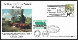 1979 - GREAT BRITAIN - FDC [Railways] + SG 1092+Railway Letter + TENTERDEN - 1971-1980 Em. Décimales
