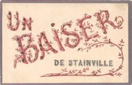 55 - MEUSE  / Stainville - 554061 - Belle Carte Fantaisie - Paillettes - Autres Communes