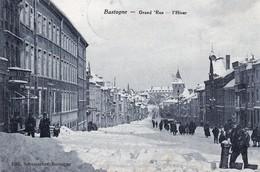 Bastogne Grand Rue  L Hiver - Bastogne