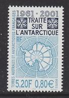 TAAF 2001 Antarctic Treaty 1v  ** Mnh (40914B) - Franse Zuidelijke En Antarctische Gebieden (TAAF)