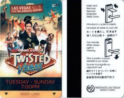Westgate Las Vegas Twisted 1983  -  Key Card, Hotelkarte, Clef De Hotel  Schlusselkarte - Hotel Keycards