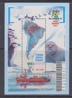 Brazil 1997 Antarctica / Proantar M/s ** Mnh (40914C) - Blokken & Velletjes