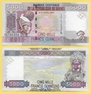 Guinea 5000 Francs P-44 2012 UNC - Guinée
