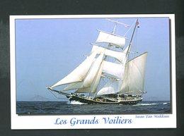 """CPM:  LES GRANDS VOILIERS - """"SWAN FAN MAKKUM - Segelboote"""