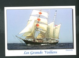 "CPM:  LES GRANDS VOILIERS - ""CONCORDIA"" - Segelboote"