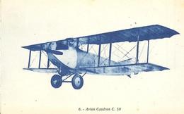 2142 6 Avion CAUDRON  C 59 - 1919-1938: Entre Guerres