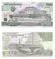 KOREA  NORTH   SPECIMEN UNC 500 WON  - COREE DU NORD BILLET 500 WON SPECIMEN NEUF - Corea Del Nord