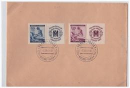 DT-Reich WKII Böhmen Und Mähren (002418) Briefumschlag Mit Sonderstempel 80, Blanco Gest. Prag, Mozart- Feier, 5.12.1940 - Böhmen Und Mähren