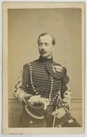 CDV 1860-70 Persus . Edmond Louis Placide De BAILLIENCOURT Dit COURCOL , Chef D'escadron Au 6e Chasseurs ? - Ancianas (antes De 1900)