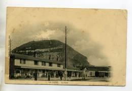01 LA CLUSE La Gare Des Voyageurs écrite 1904 Dos Non Divisé       /D09-2015 - Other Municipalities