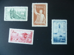 TIMBRE CHINE  N° 988 / 991  NEUF SANS GOMME - 1949 - ... Volksrepublik