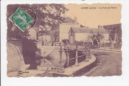 CPA 45 LADON Le Pont De Pierre - Other Municipalities