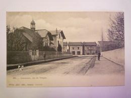 ANNEMASSE  (Haute-Savoie)  Vers  1900 :  Rue Du  TEMPLE   - Annemasse