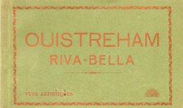 14-SUPERBE CARNET COMPLET DE 12 CPA DE OUISTREHAM - RIVA-BELLA - Ouistreham