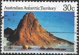 AUSTRALIAN ANTARCTIC TERRITORY 1984 Antarctic Scenes - 30c - Mount Coates  FU - Australian Antarctic Territory (AAT)