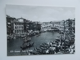 VENEZIA - Vera Fotografia , Real Photo -  Ponte Di Rialto - Venetië (Venice)