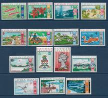 CAYMAN - YVERT N° 264/278 ** MNH - COTE = 25 EUR. - FAUNE ET FLORE - - Iles Caïmans