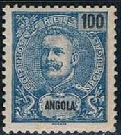 Angola, 1898/901, # 47, MH - Angola