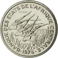 Monnaie, États De L'Afrique Centrale, 50 Francs, 1976, Paris, ESSAI, FDC - Gabon