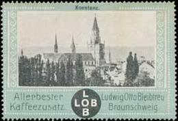 Reklamemarke: Konstanz - Erinnophilie