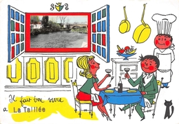 ¤¤  -  LA TAILLEE   -   Carte Fantaisie    -   ¤¤ - France