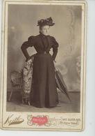PHOTOS - FEMMES - FRAU - LADY - U.S.A. - Beau Portrait Sur Support Cartonné Femme élégante De NEW YORK - Photo KEITH - Moda