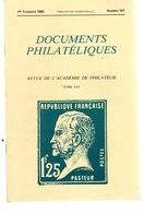 Documents Philatéliques 1986-1987 N° 107 à 114  Complet Ttb (8 N°) - Tijdschriften: Abonnementen