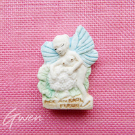 Feve Artisanale Midgard Polychrome Gnome Elfe Fée Lutin Miniature Biscuit Porcelaine - Characters