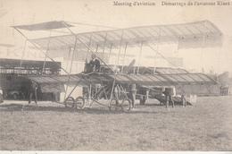 Meeting D' Aviation - Démarrage De L' Aviateur Kinet - Voir Verso - Meetings