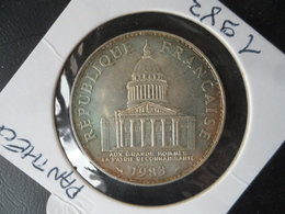 100 Francs Argent  Panthéon 1983 état SUP N° 1 - France