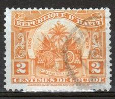 Haiti 1906 Two Centime Single Orange Stamp. - Haiti