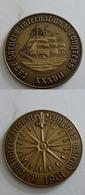 Médaille De Table En Bronze Du Congrès Des Caps Horniers De 1981 - Tokens & Medals