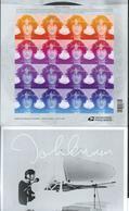 USA. Scott # 5312-15 MNH Sheet Of 16. John Lennon  2018 - Unused Stamps