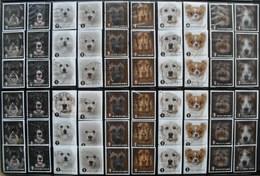 België 2014 Honden  Chiens Dogs (6 Complete Reeksen) - Stamps